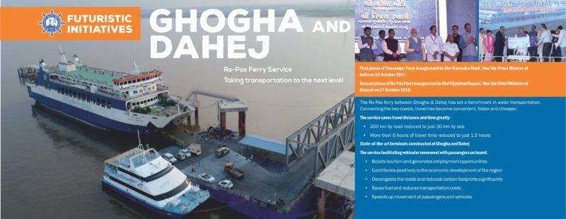 Ghogha and Dahej Ro-Pax Ferry Service